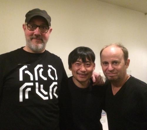 with Hiroshi Watanabe (2017)
