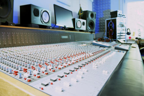 ADT mixing console