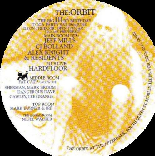 The Orbit Leeds ca 1993 94