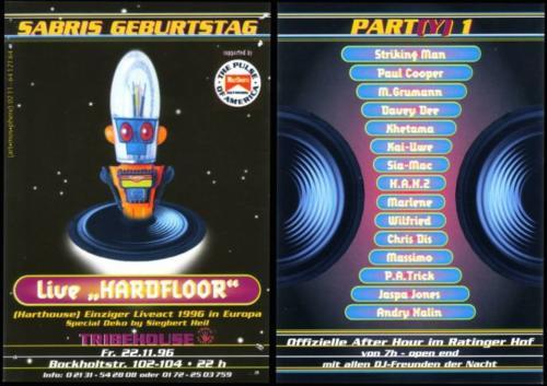 Tribehouse Neuss Germany 1996
