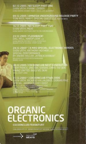 Organic Electronics - 23.12.2005