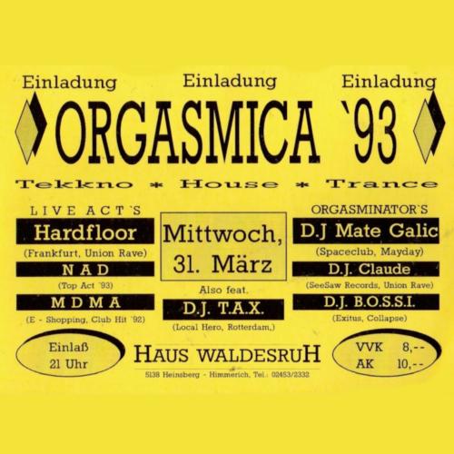 Orgasmica - 31.03.1993