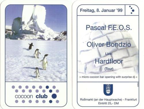 Cocoon Club - 08.01.1999